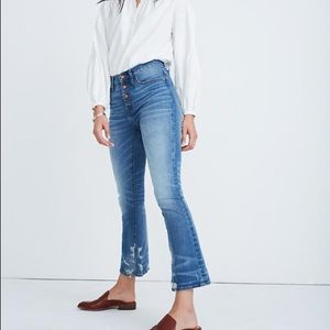 Madewell Cali Demi front button edition sz 25
